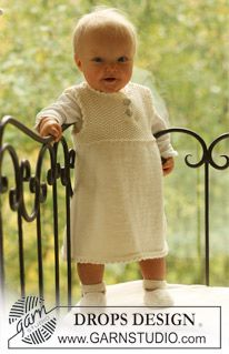 BabyDROPS 18-9 by DROPS Design. Free Pattern
