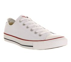 Converse Converse All Star Low White Canvas - Unisex Sports