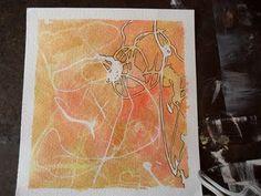 Abstract Watercolor Tutorial