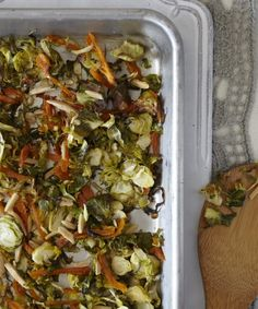 Dijon Braised Brussels Sprouts - Candice Kumai