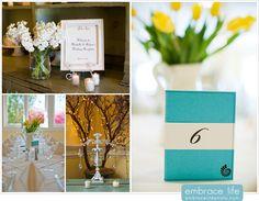 Santa Barbara Wedding Reception Details