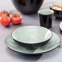 Hlboký tanier Finesse Green 20cm    #keramika#tanier#jedalen#kuchyna#cosyandtrendy#ranajky Cosy, Serving Bowls, Tableware, Green, Kitchen, Dinnerware, Cooking, Tablewares, Kitchens