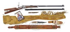 "*TOM SELLECK'S SHILOH SHARPS RIFLE FROM THE MOVIE ""QUIGLEY DOWN UNDER"", PROBABLY THE MOST FAMOUS MOVIE GUN IN HISTORY. Cowboy Action Shooting, Shooting Guns, Weapons Guns, Guns And Ammo, Shiloh Sharps, Winchester, Tom Selleck, Famous Movies, Cool Guns"