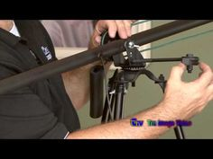 DIY Carbon Crane/ Jib for DSLR - YouTube