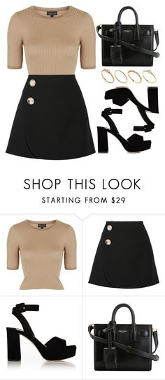 """Style #10019"" by vany-alvarado ❤ liked on Polyvore featuring Topshop, Marni, Miu Miu, Yves Saint Laurent and ASOS"