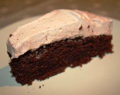 Kjernesunn Nordkvinne: Sjokoladekake med krem - lavkarbo og kjempegod! Lchf, Keto, Sugar Free, Brownies, Nom Nom, Food And Drink, Healthy Recipes, Healthy Food, Low Carb
