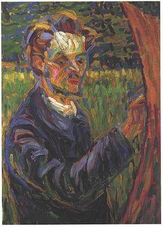 Erich Heckel by Ernst Ludwig Kirchner