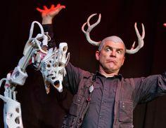 Award winning puppeteer and visual artist James Godwin