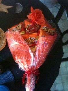 FLAMING HOT CHEETO BOUQUETS