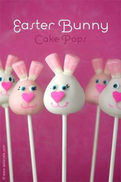 Bunny Cake Pops http://www.aspecialtybox.com/Cakeball-Boxes_c_571.html