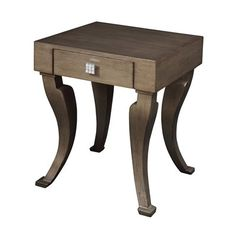 Gail's Accents 30-107LT Modern Leaf End Table