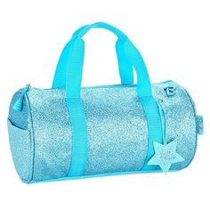 Sparkalicious Small Turquoise Duffle Packing Slip, Turquoise Purse, School  Bags, Duffel Bag, 11afa43e77