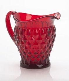 Mosser Glass Elizabeth Pitcher in Red Crystal Mosser http://www.amazon.com/dp/B009XU27KO/ref=cm_sw_r_pi_dp_Ae6Cub1MAD7RE