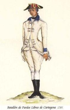 Batallón de Pardos Libres de Cartagena 1785
