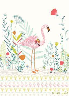 Bethan Janine // Flamingo