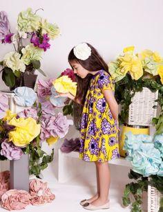 Little Key Leaf, a new kidswear label for girly girls