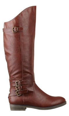Cherry Brown Boots