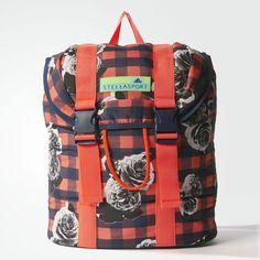 adidas STELLASPORT Printed Backpack Night Indigo Womens Blue Adidas 811e178cdf3a6