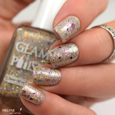 Glam Polish What a Feeling used for one accent nail. $25 shipped.
