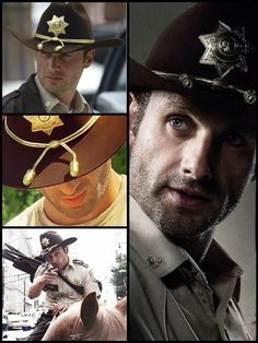 The officer Rick Grimes❤
