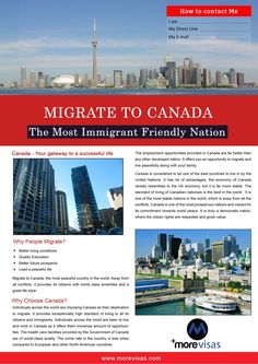 Canada immigration can be your priority when compared to other countries. If you want to excel in your career or if you want to earn a great salary in less tim… Immigration Au Canada, Migrate To Canada, Trip Advisor, Travel Advisor, Moving To Canada, Overseas Education, Canadian History, New Brunswick, India Travel