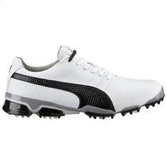 Puma Titantour Ignite 188656-03 White/Black Mens Golf Shoe from Golf  Ski Warehouse