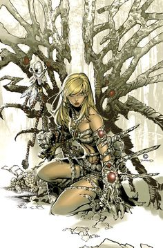 Witchblade #106 Cover