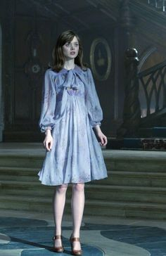 Bella Heathcote's pale blue in Dark Shadows.
