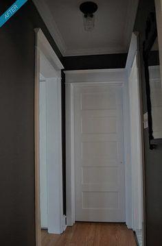 """Office Colors - BM Decorators White for trim, Martha Stewart """"Zinc"""""""