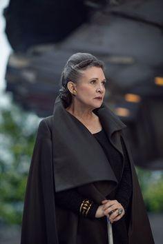The beautiful Carrie Fisher aka General Leia Organa
