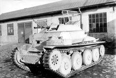 Sd.Kfz. 140-1 Aufkläerungspanzer (Reconnaissance Tank) 38(t) mit 2cm KwK38 L-55 und 7.92mm MG-42