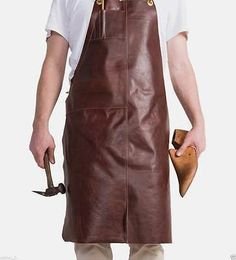 Aprons 175628: Leather Welding Apron Protective Clothing Carpenter Blacksmith Gardening # 09 -> BUY IT NOW ONLY: $69.99 on eBay!