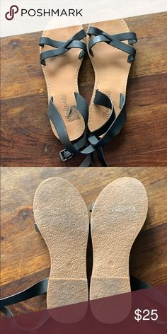 f66a1f329570 Madewell sandals Lightly worn Madewell Shoes Sandals Madewell Sandals