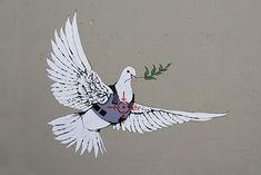 Armoured Peace Dove - Banksy, (British, - ) Fine Art Reproductions, Oil Painting Reproductions - Art for Sale at Galerie Dada Banksy Paintings, Banksy Art, Bansky, Peace Dove, Canvas Art, Canvas Prints, Oil Painting Reproductions, Van Gogh, Art For Sale