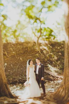Treehouse Wedding // Fairytale Wedding in the Trees   Chelsia - Jonathan