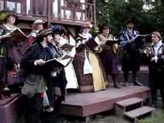 NYRF 2007 - The Crown Madrigals: Fa Una Canzona - YouTube...Because I just had to pin this!