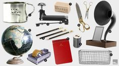 Vintage Office Accessories | Cool Material