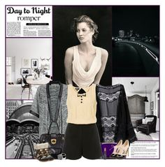 """Day To Night: Rompers"" by kittyfantastica ❤ liked on Polyvore featuring Parisian, Casadei, Isabel Marant, Becca and Giorgio Armani"