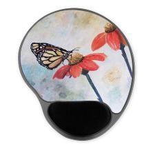 Monarch Love Gel Mousepad