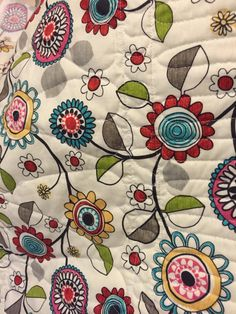 I love the look of the quilting stitches on the back of the quilt.