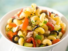 Salade de coquillettes au thon et au thym