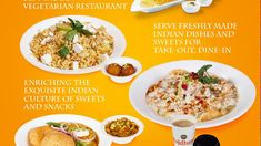Delicious Indian Cuisine Mouth Watering Taste and Excellent Services - Rajdhani Sweets & Restaurant Indian Dishes, Vegetarian, Sweets, Restaurant, Snacks, Dining, Food, Sweet Pastries, Twist Restaurant
