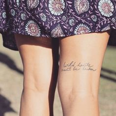 Small Quote Tattoos | POPSUGAR Smart Living