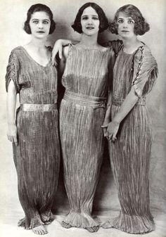 Mariano Fortuny dresses 1920's