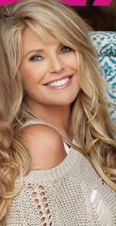 LOVE her Hair, Christie Brinkley, July 2013, age 59! Amazing! Gorgeous! Beautiful!