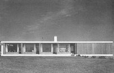 Villa Tulip, Brabrand, Denmark    Knud Blach Petersen & Herbert / Jensen, 1959-1960