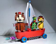 Wonderpets! Lego.