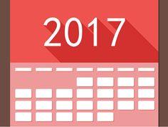 Une nouvelle année qui commence: c'est le bon moment pour insérer dans notre calendrier marketing 2017 nos nouveaux projets.