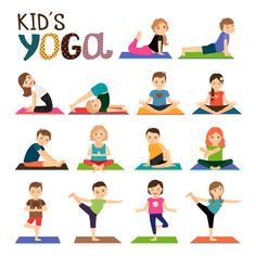 Yoga Asanas for Kids with detailed instructions and benefits. You can practice these yoga poses at home.