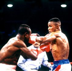 """The picture shows Felix Trinidad, a famous Puerto Rican athlete nicknamed """"Tito"""". He represents the very popularized Puerto Rican sport, boxing. Representing their country as an individual competitor is the closest thing to warriors for them when they go against countries like the US and Russia. Unlike us, we don't take our boxing pride to their level, to the extent of calling them warriors). However we too get our boxers to speak out and express their feelings after they have a victory #3B"""